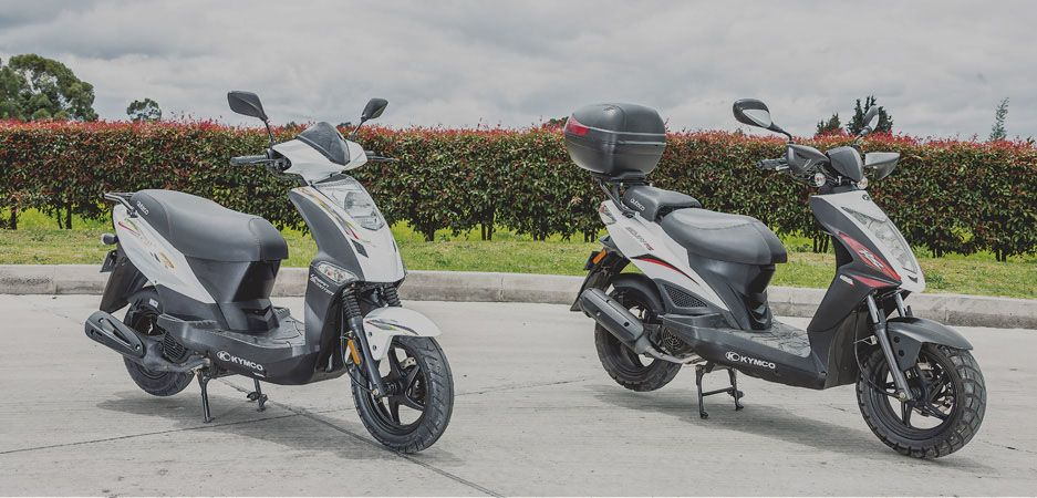 Comparativo Kymco Twist - Agility RS Naked